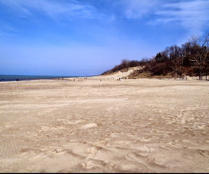 hiking-trails-near-Dunes and the Big Lake: Indiana's Lake Michigan Shoreline