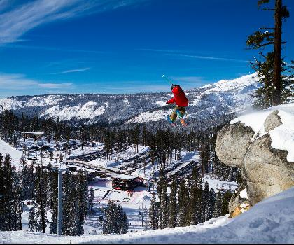 skiing-trails-near-Sierra at Tahoe | Lake Tahoe California Ski