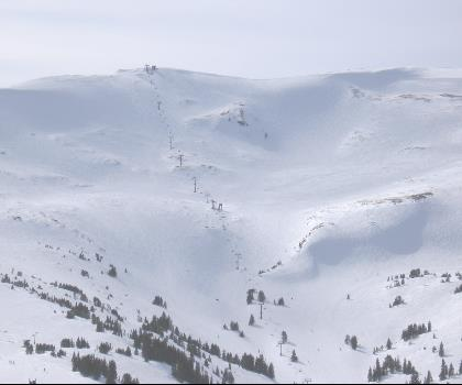 skiing-trails-near-Loveland Ski Area
