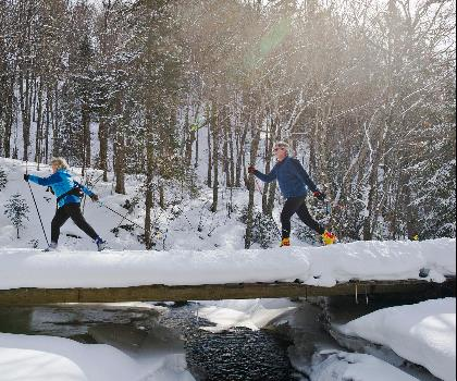 hiking-trails-Canada-Barrie & Central Ontario Cross Country Skiing & Snowshoeing Trails