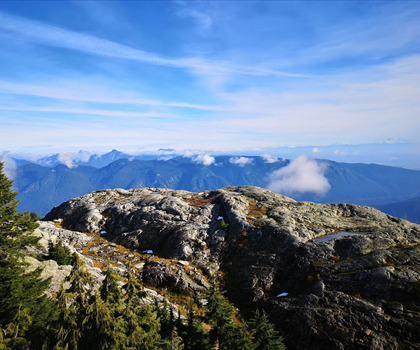skiing-trails-near-Mount Seymour
