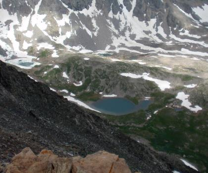 hiking-trails-near-Quandary Peak, Colorado