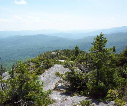 hiking-trails-USA-Burnt Mountain, Vermont