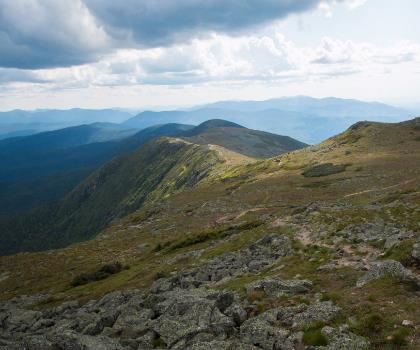 hiking-trails-near-Mount Franklin, New Hampshire