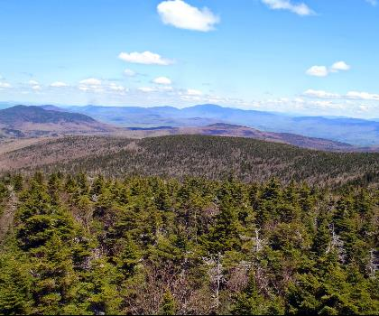 hiking-trails-near-Mount Lethe, New Hampshire