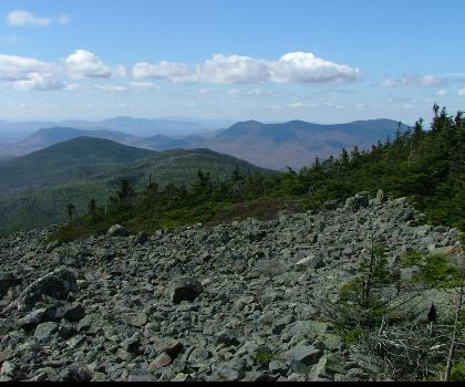 hiking-trails-USA-White Cap Mountain, Maine