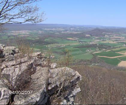 hiking-trails-near-The Pinnacle, Pennsylvania