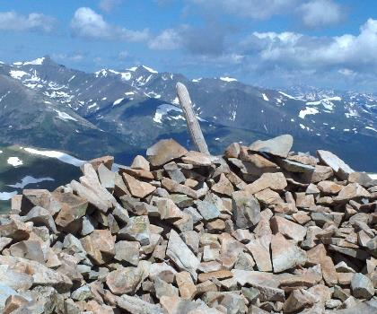 hiking-trails-near-Mount Silverheels, Colorado