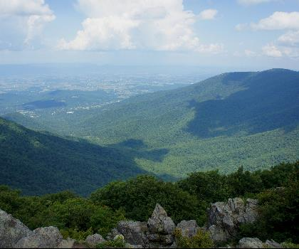 hiking-trails-near-Robertson Mountain, Virginia