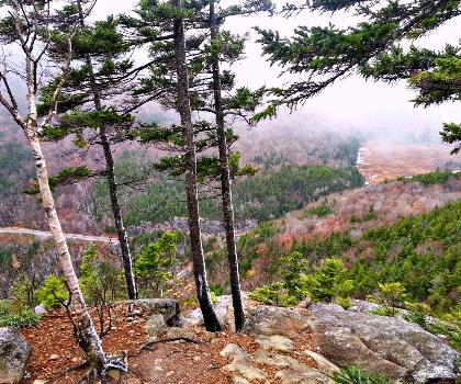 hiking-trails-USA-Jackson Mountain, Maine