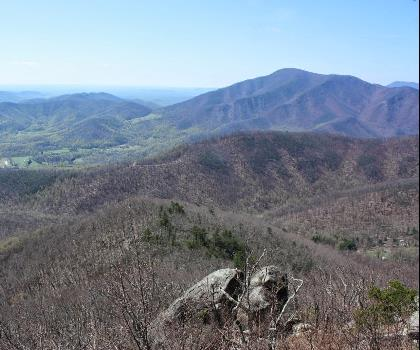 hiking-trails-near-Trayfoot Mountain, Virginia
