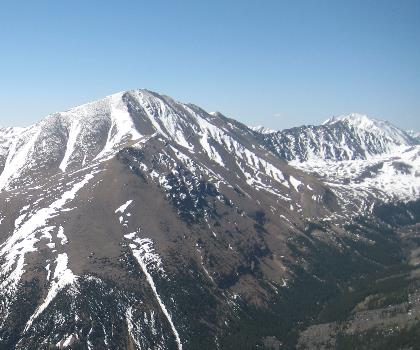 hiking-trails-near-Mount Elbert-South Peak, Colorado