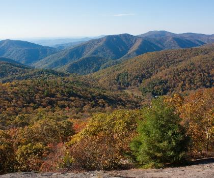 hiking-trails-near-Maintop Mountain, Virginia