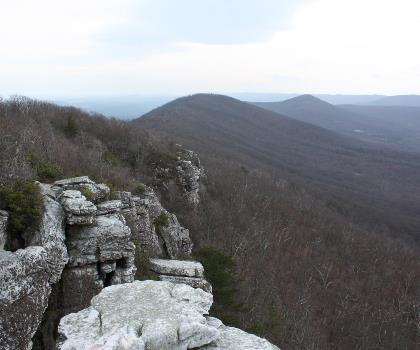 hiking-trails-near-Rocky Knob, Virginia