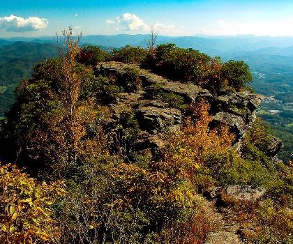 hiking-trails-near-The Pinnacle, North Carolina
