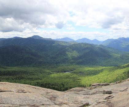 Hurricane Mountain, New York photo